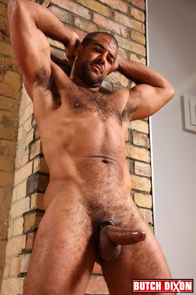 Roman Wright black hairy muscle man for Butch Dixon – Nude Dude Sex ...