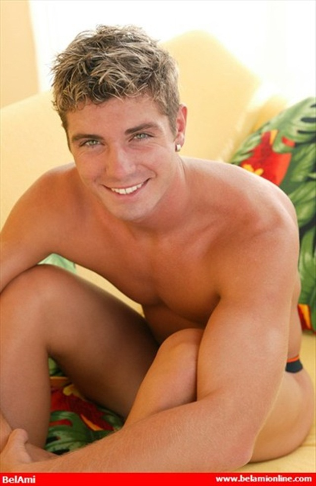 Belami: Pin-Up cute European boy Etienne Pauliac