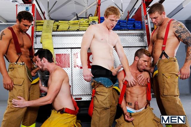 пожарники в порно