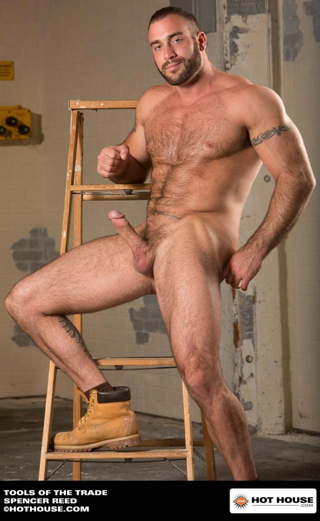 Barb long hard muscular cock