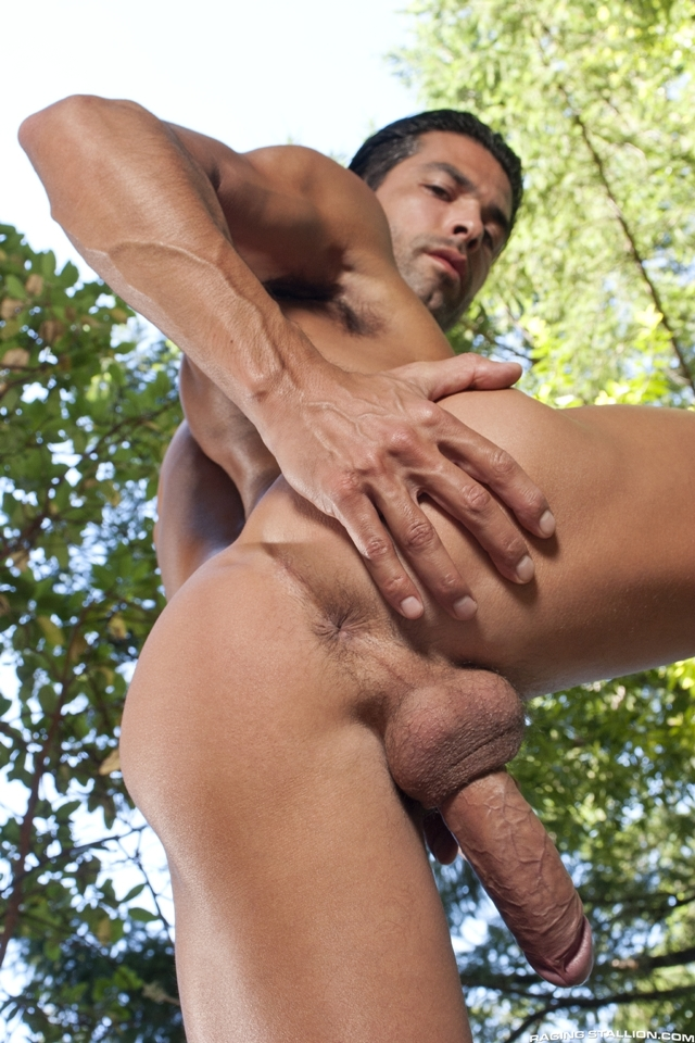 Outdoor-gay-fucking-DO-Jesse-Santana-in-the-Woods-part-2-Raging-Stallion-04-photo