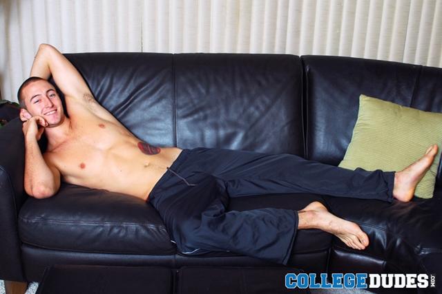 College Stud Busting His Nice Nuts