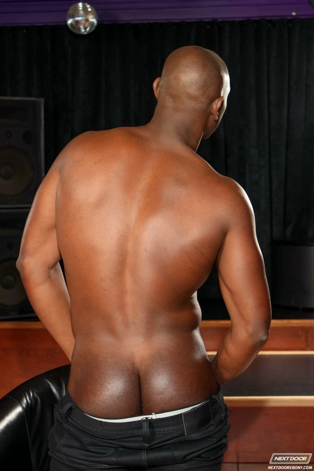 half black men nude