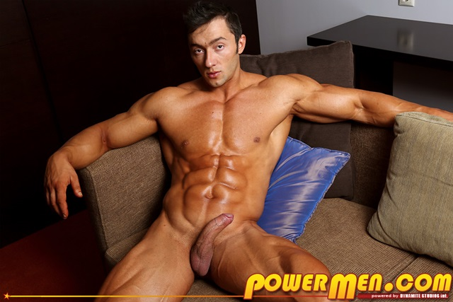 Gay men muscle hung