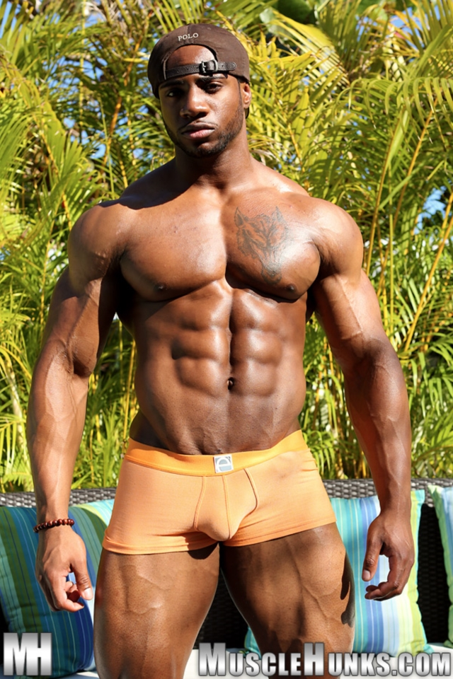 free blacks ebony Muscle nude studz