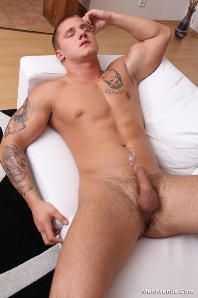 Naked hard on