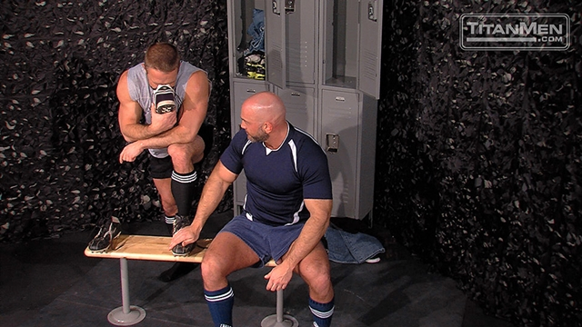 Titan-Men-Jesse-Jackman-Dirk-Caber-rugby-shorts-jockstrap-lick-pits-sniff-old-shoes-scrum-cap-010-male-tube-red-tube-gallery-photo