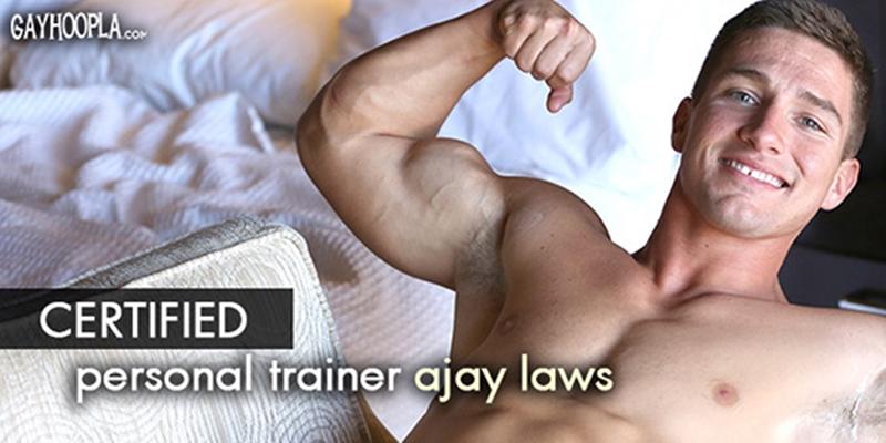 Sneak Peak Muscle Man Ajay Laws