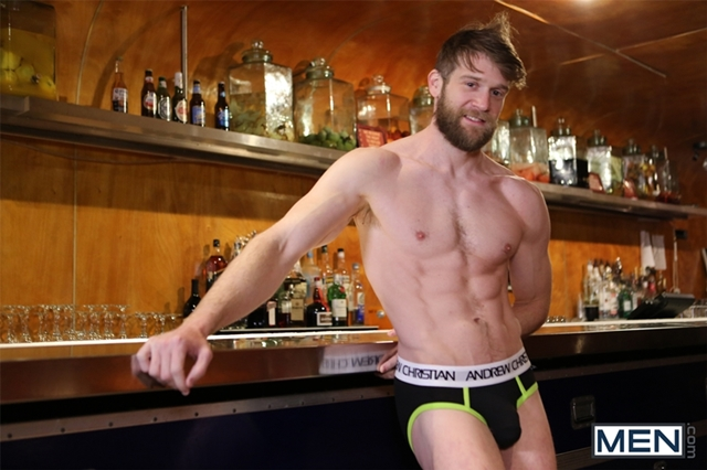 Colby Keller and Luke Adams