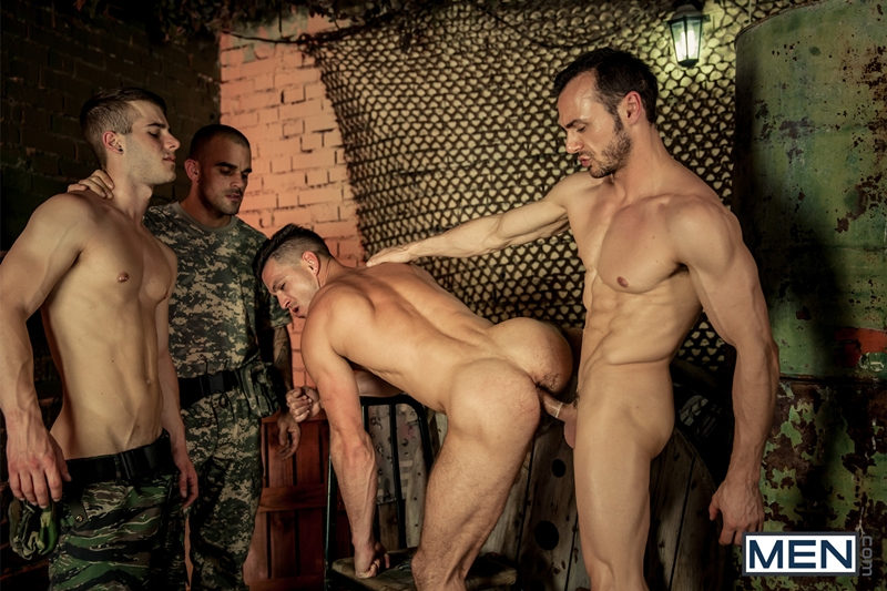 Alex Brando, Allen King, Damien Crosse, Gabriel Vanderloo and Paddy O'Brian