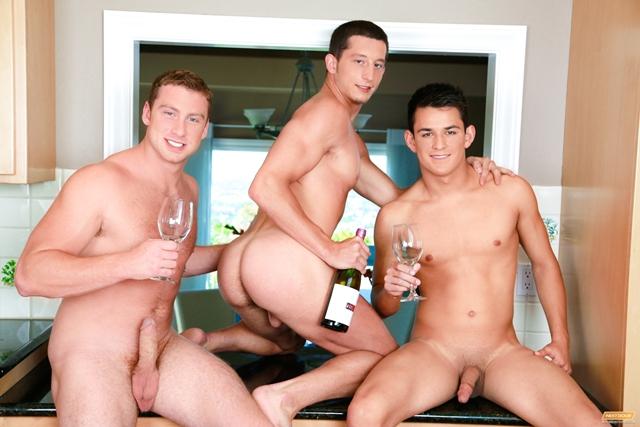 Connor Maguire, Josh Villa and Drake Tyler