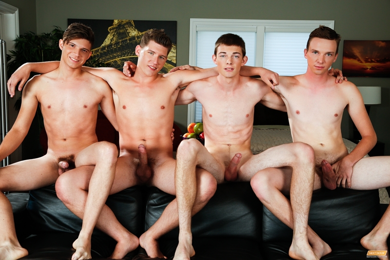 Adrian Rivers, Jessie Kale, Dakota Wolfe and Tyson Stone