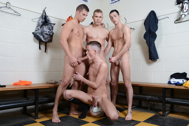 Teens in riding pants