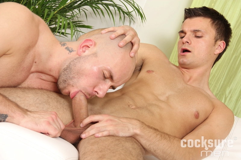 cocksuremen  Alex Bach bareback fucks Jayden Cook
