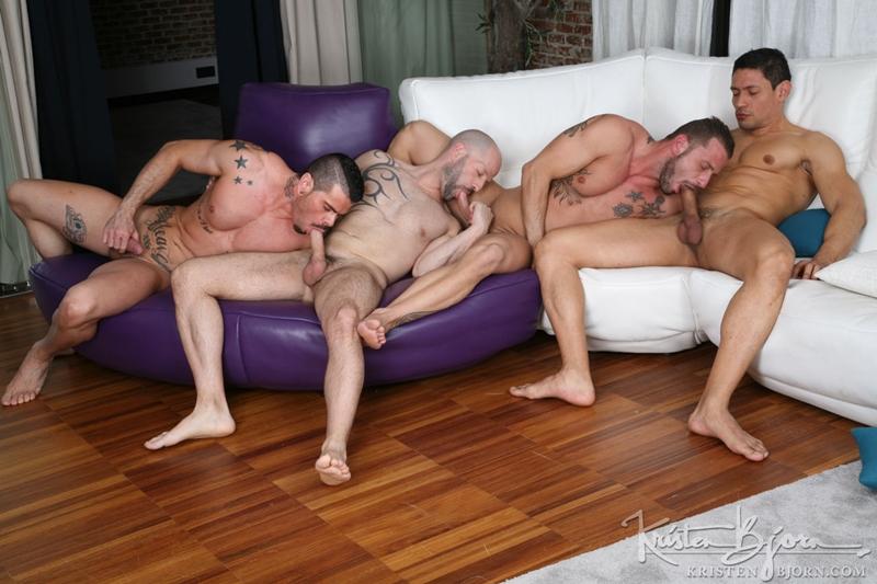 Antonio Miracle, Mario Domenech, John Rodriguez and Rainer
