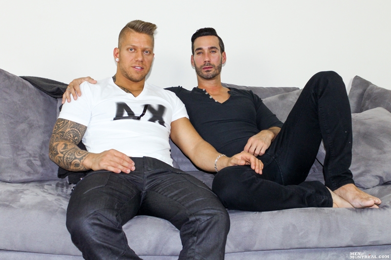 men of montreal  MenofMontreal tattoo muscle hunk big cock naked men Alexy Tyler Mam Steel monster cock inked bad boy top man 002 tube video gay porn gallery sexpics photo Alexy Tyler and Mam Steele