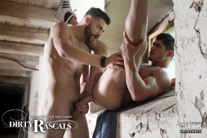 naked sword  NakedSword Tommy Defendi Connor Maguire Dirty Rascals hunk Dato Foland fuck huge uncut cock horny studs 014 tube download torrent gallery sexpics photo Tommy Defendi and Dato Foland
