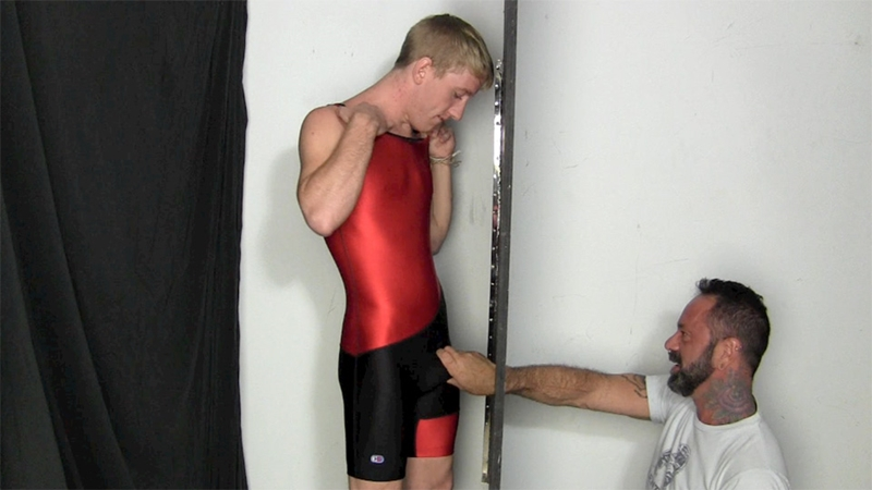 College junior wrestling boy Tanner