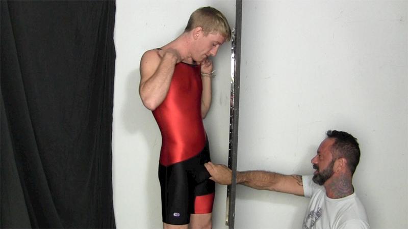 College junior wrestling boy Tanner