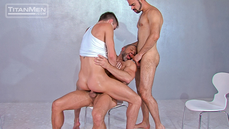 titan men  Dirk Caber, JD Phoenix and Dolan Wolfe