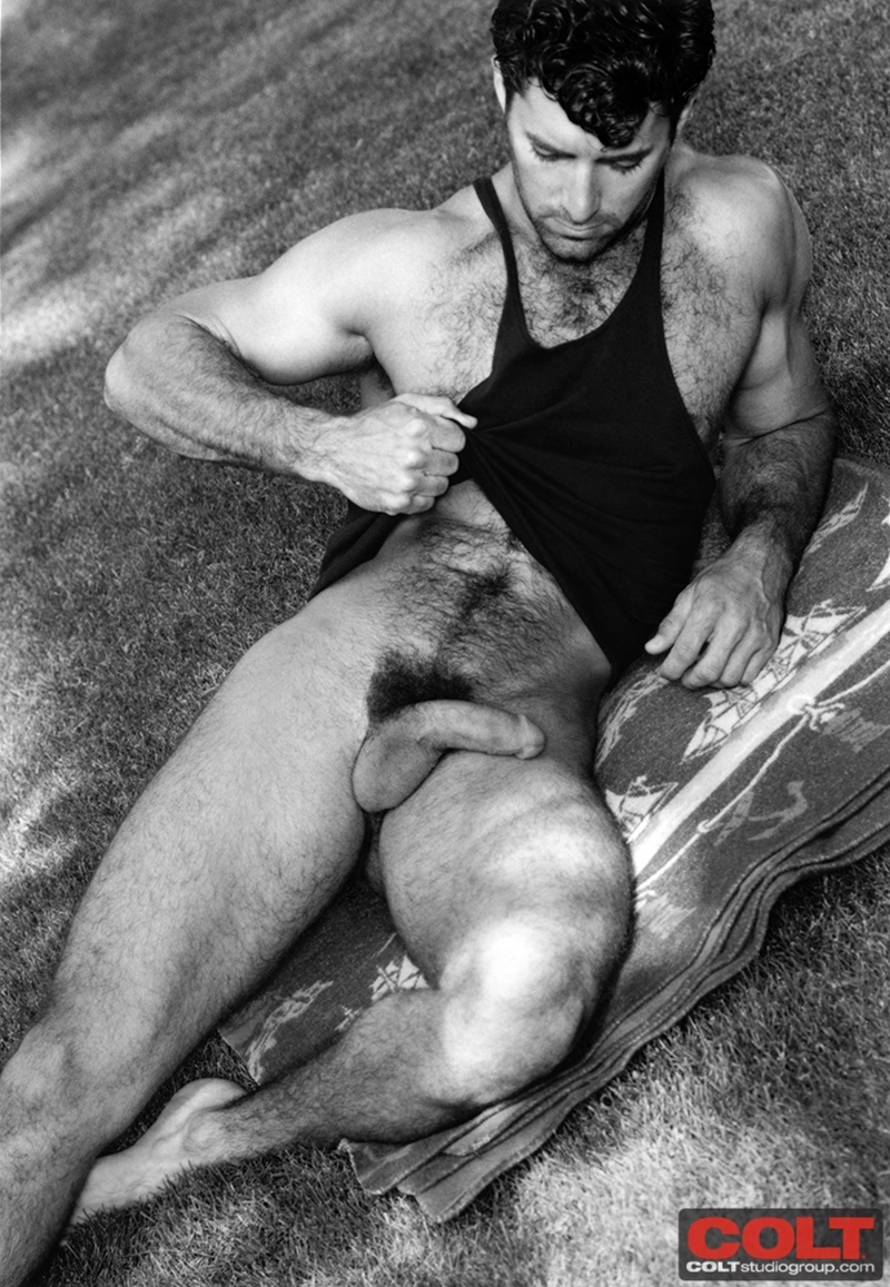 Hairy Chested Colt Icon Rich Koch  Nude Dude Sex Pics-1120