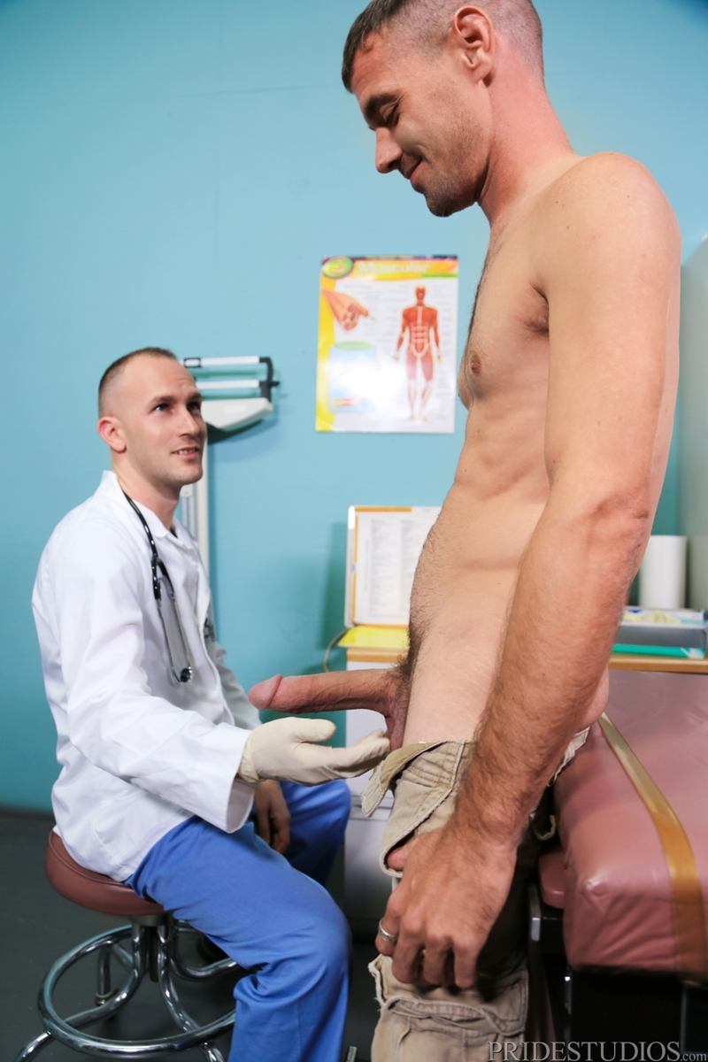 image Gay fat doctor men porn while waiting ty