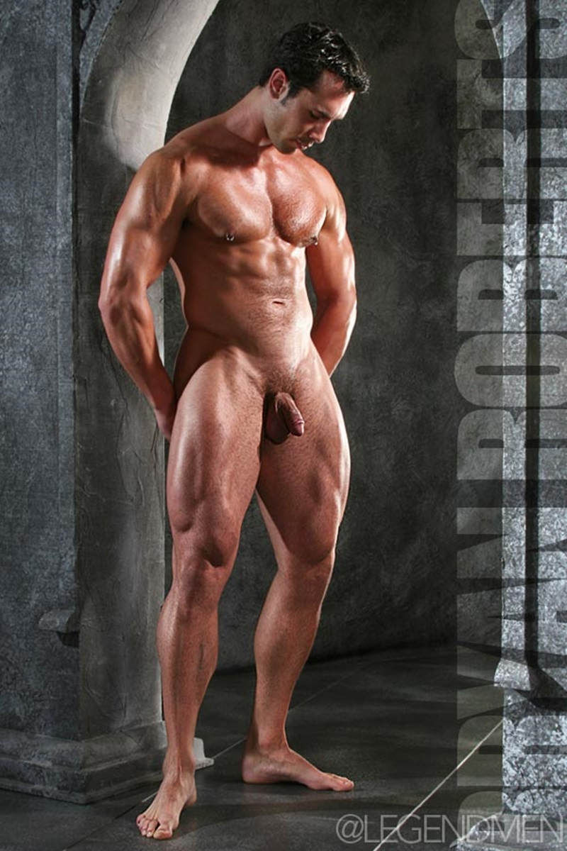 Impossible Naked pro male bodybuilder