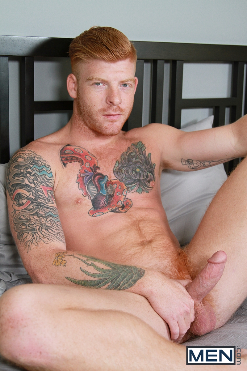 Sexy Hairy Ginger Stud Bennett Anthony And Dennis West -4978