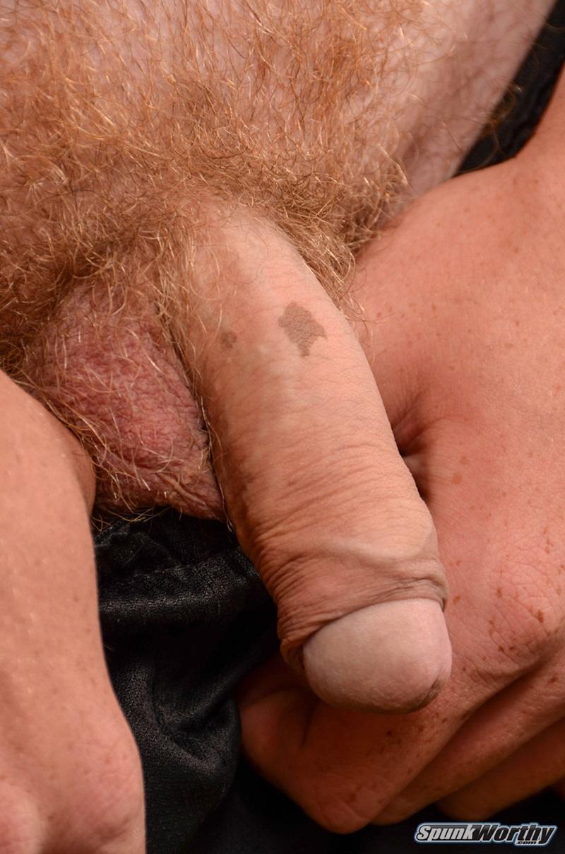 Ginger Pubes Graham Jerks His Huge Uncut Cock To A Big -9612