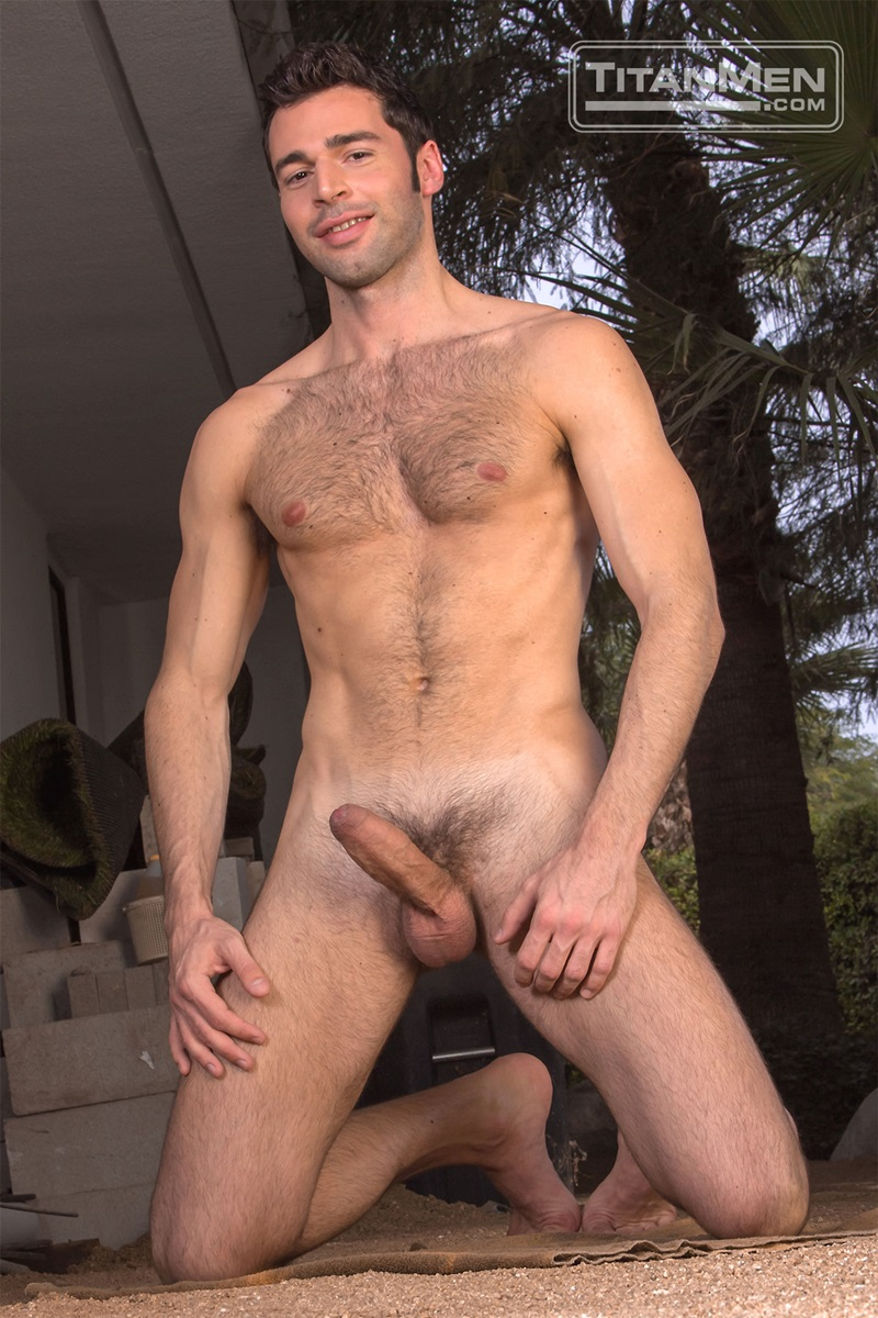 Colby White fingers and tongues Dario Beck's hairy hole ...