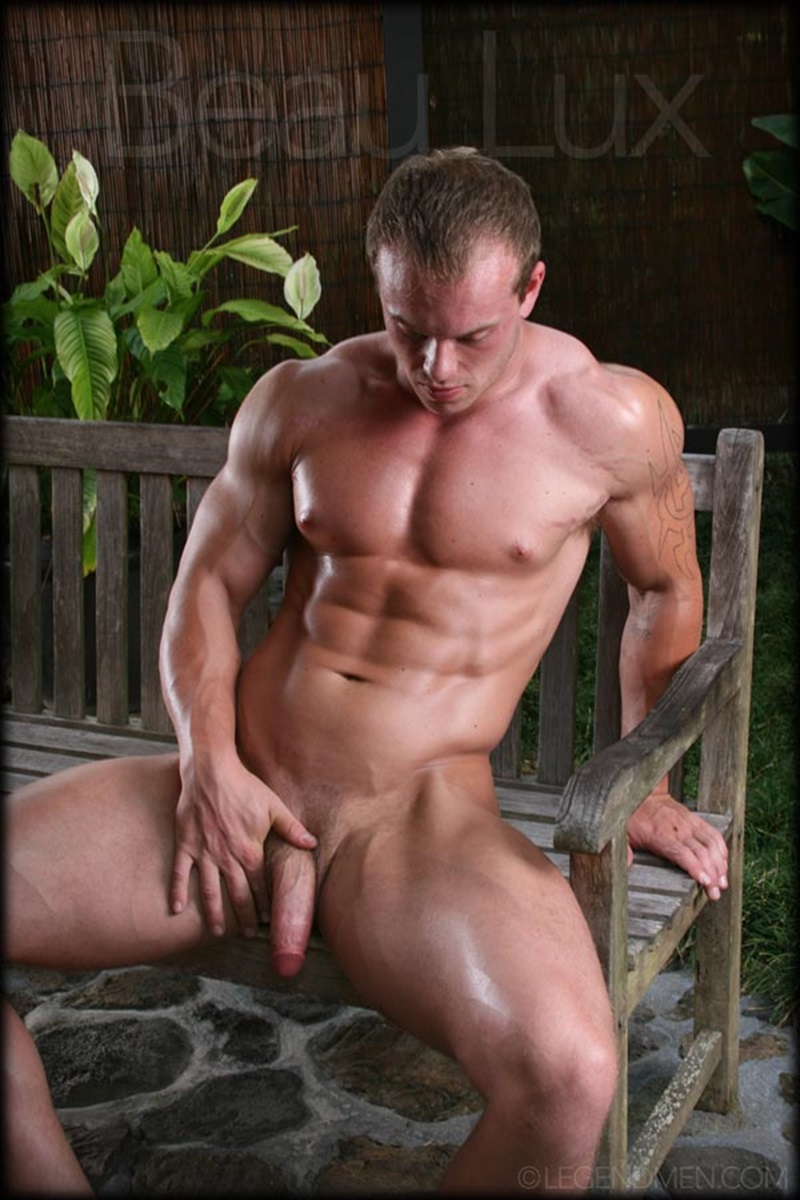 Naked Muscled Hunk Beau Lux Legend Mens Newest -1236