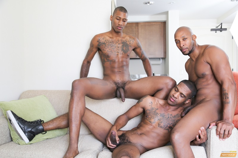 Naughty Hunks Fuck In Group