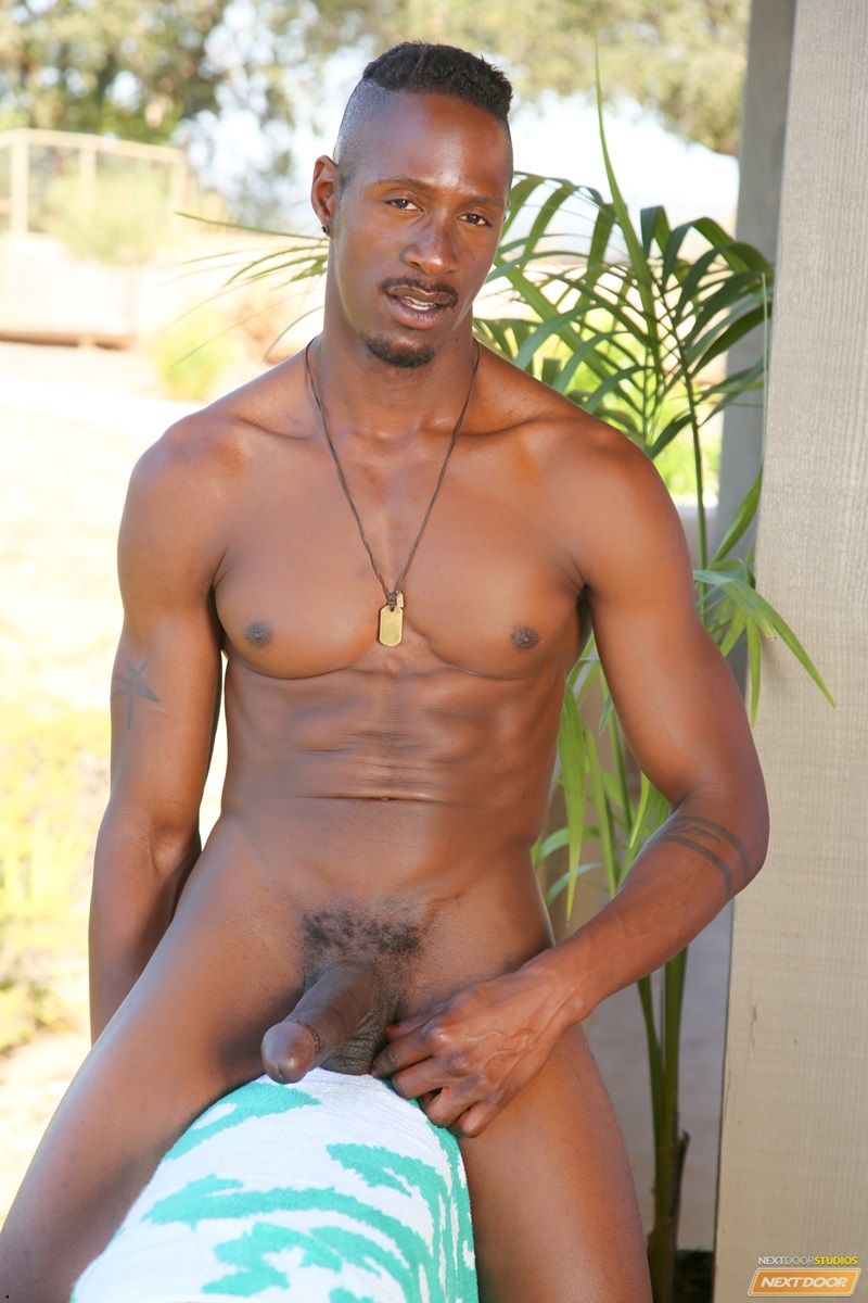 Black muscled hunks from africa in gay sex 8