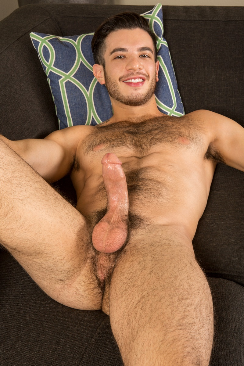 Young very hairy chested men you