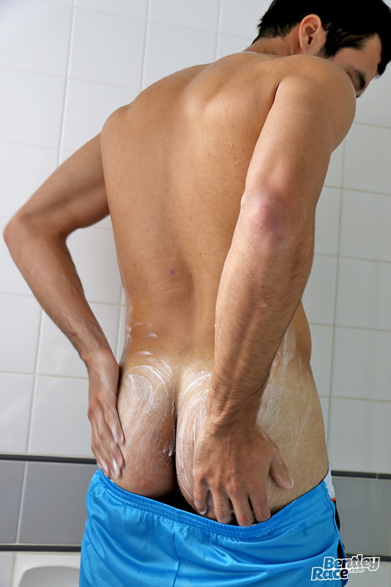 BentleyRace-sexy-naked-young-dude-Benjamin-Bosco-hairy-stomach-flat-ripped-tanned-huge-thick-uncut-cock-jerking-solo-cumshot-017-gay-porn-sex-gallery-pics-video-photo