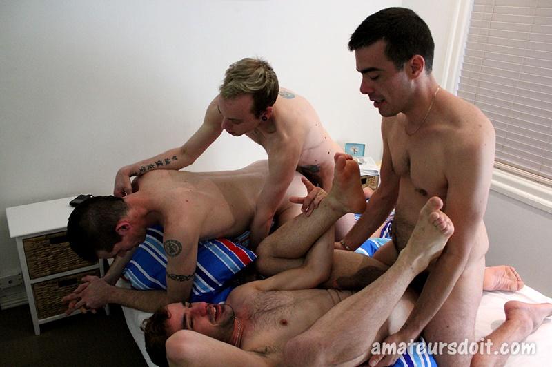 Naked guys fucking