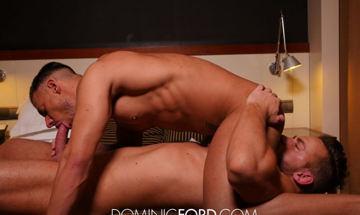 DominicFord-Hardcore-gay-porn-Logan-Moore-and-Sergio-fucking-sucking-kissing-naked-tanned-muscle-men-anal-assplay-rim-job-big-hung-Spanish-cock-001-gay-porn-sex-gallery-pics-video-photo