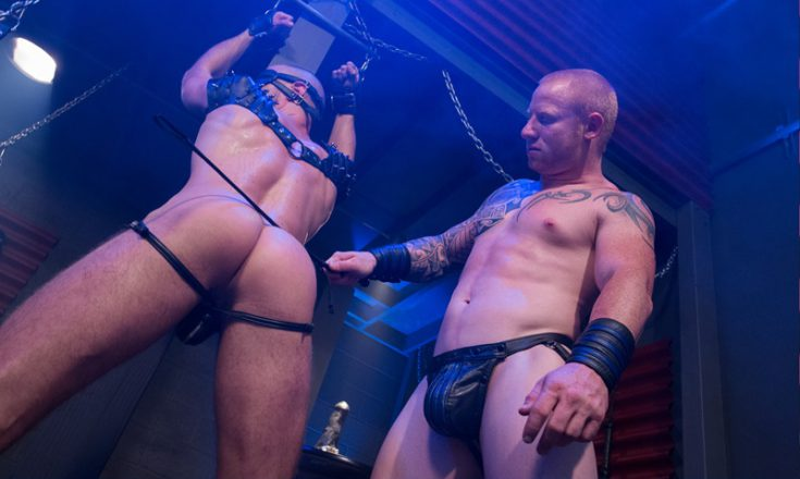 Hothouse-bdsm-sexy-naked-muscle-guys-leather-Brendan-Phillips-ass-whipping-Jordan-deep-fucking-anal-rimming-sling-001-gay-porn-sex-gallery-pics-video-photo