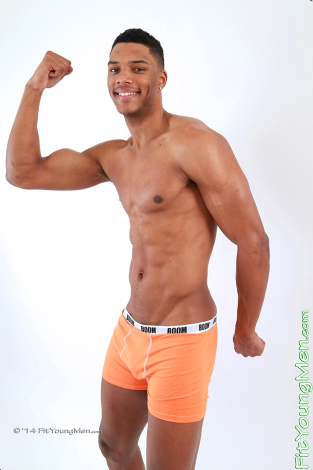 Naked Fit Young Sportmen