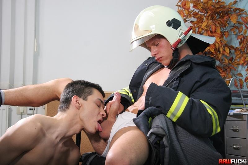 Nico Moratti fucked by fireman Jack Moon