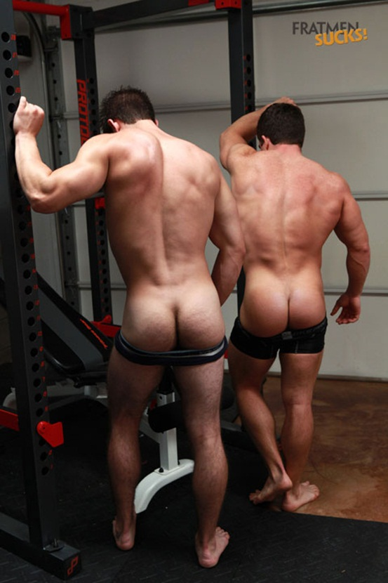 Fratmen Cole and Trent the big cock guys get friendly down in the gym 05 Young nude Boy Twink Strips Naked and Strokes His Big Hard Cock photo Fratmen Cole and Trent the big cock guys get friendly down in the gym
