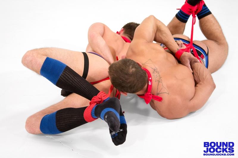 bound jocks  Lucas Knight and Brock Avery