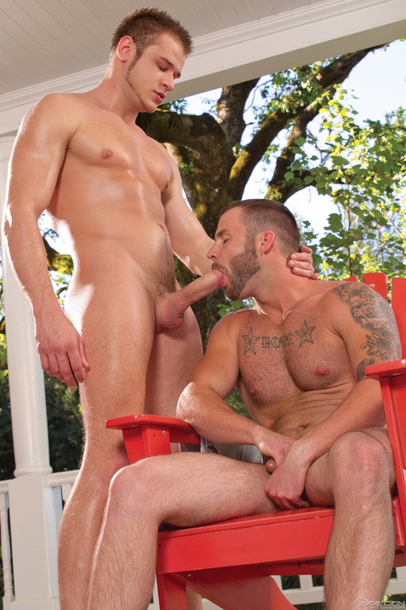 falcon studios  Chris Bines and Nikko Russo