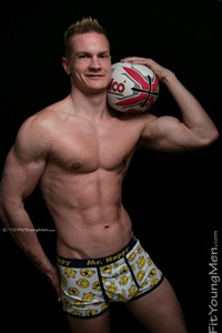 Fit Young Men – Stripped of their kit – Straight naked rugby players gallery
