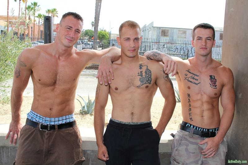 Hardcore ass fucking orgy with Quentin Gainz, Chase and Craig Cameron
