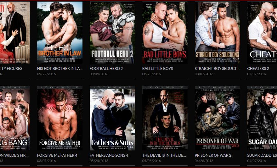 Icon Male gay porn site 4 star review