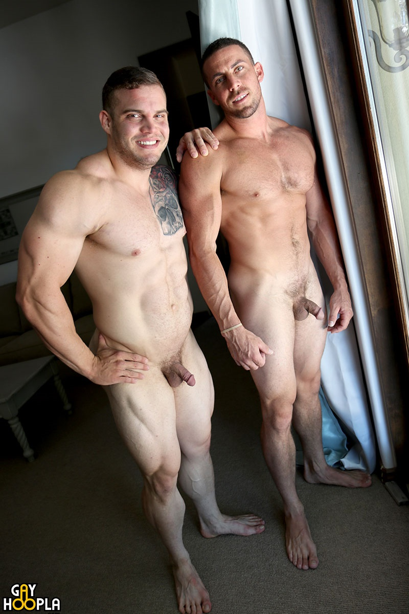 Buck Carter And Derek Jones Muscle Jock Flip Flop Ass Fucking - Nude Dude Sex Pics-9927