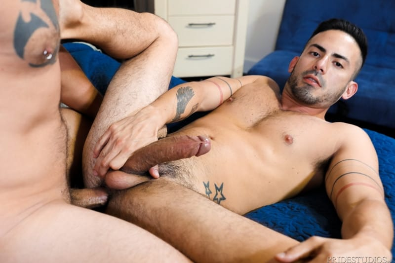 Men for Men Blog Cesar-Rossi-Jace-Chambers-Big-dick-studs-flip-flop-anal-fucking-ExtraBigDicks-010-gay-porn-pictures-gallery Cesar Rossi sucks Jace Chambers' big cock first and does a nice job deep throating it Extra Big Dicks