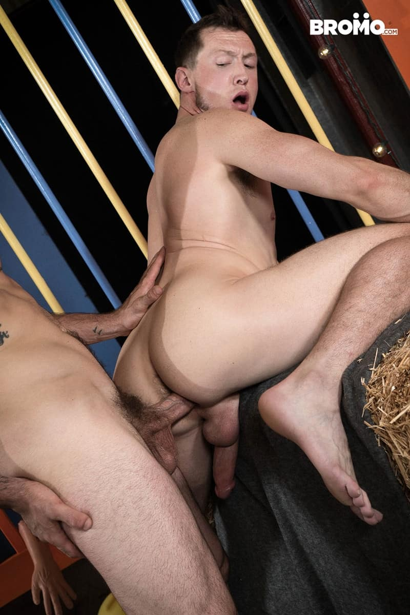 Men for Men Blog Buck-Richards-Pierce-Paris-ass-fucks-muscular-bubble-butt-ass-hole-huge-cock-sucking-Bromo-015-gay-porn-pictures-gallery Pierce Paris throat fucks Buck Richards' mouth with his huge thick dick Bromo