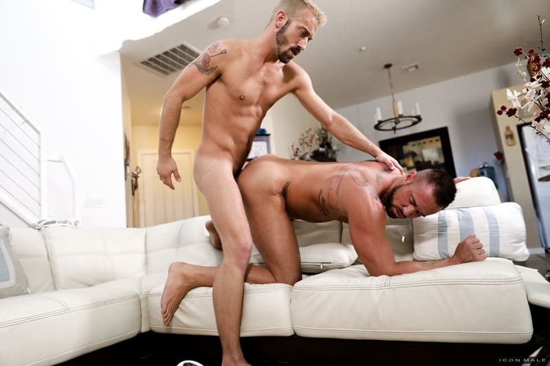 Men for Men Blog Michael-Roman-Jett-Rink-kiss-gay-porn-stars-hardcore-ass-fucking-young-dudes-cum-IconMale-008-gay-porn-pictures-gallery Michael Roman and Jett Rink kiss passionately then the hardcore ass fucking begins ending in both young dudes covered in cum Icon Male